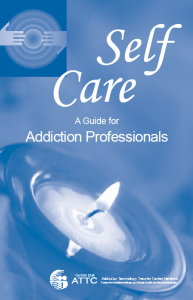 Self Care - A Guide for Addiction Professionals booklet